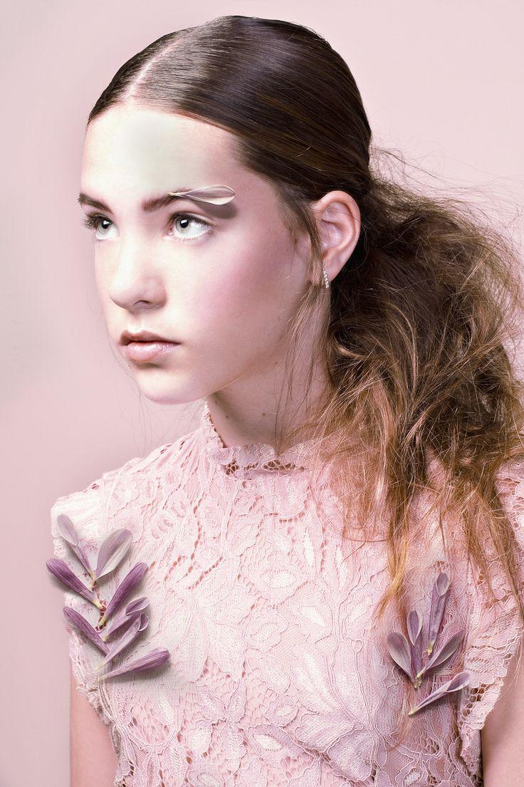 Emma Rose photographed by Nadja Pollack, muah: Elke de Jong