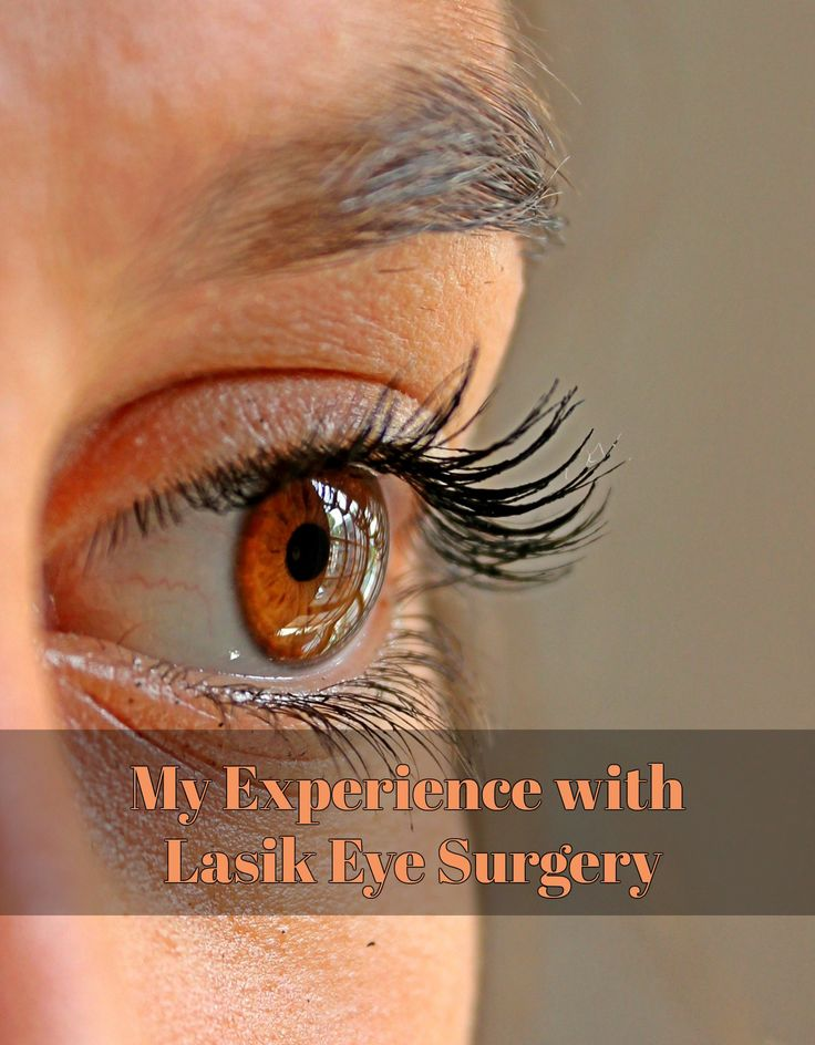 My Experience with Lasik Eye Surgery - Have you ever wondered about getting Lasik eye surgery? Here is my experience with having Lasik to help you decide if Lasik is right for you. www.thehealthylivingmama.com