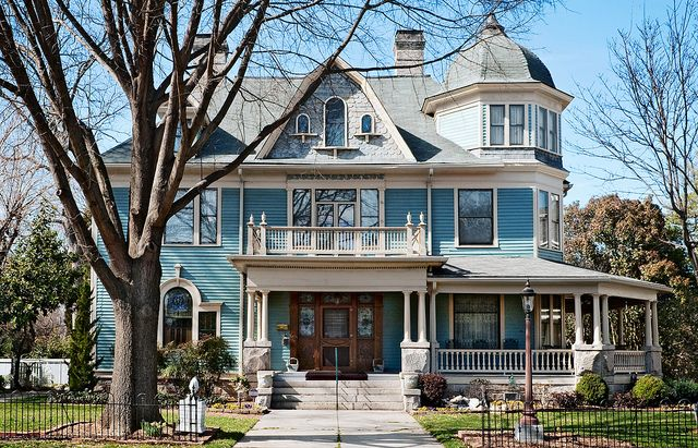 Milton Slater Brown house (1901), 208 South Fulton Street, Salisbury, North Carolina