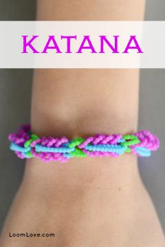 How to Make a Katana Bracelet