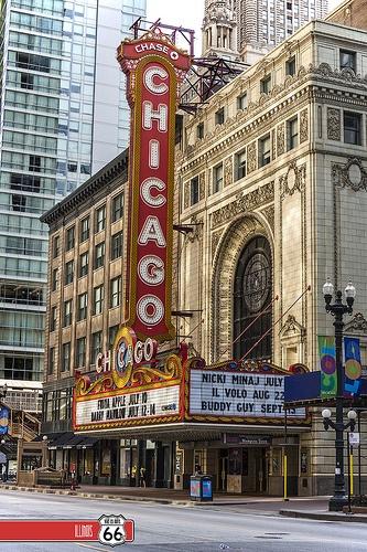 Teatro Chicago. The Loop. CHICAGO, IL