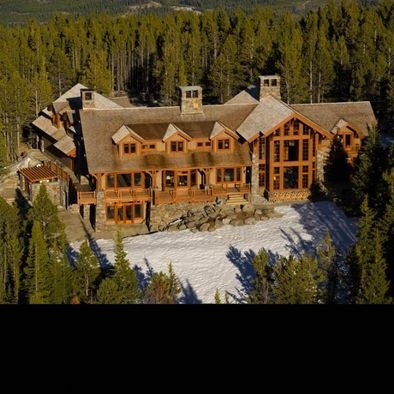 Ultimate mountain home