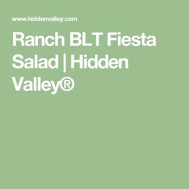 Ranch BLT Fiesta Salad | Hidden Valley®