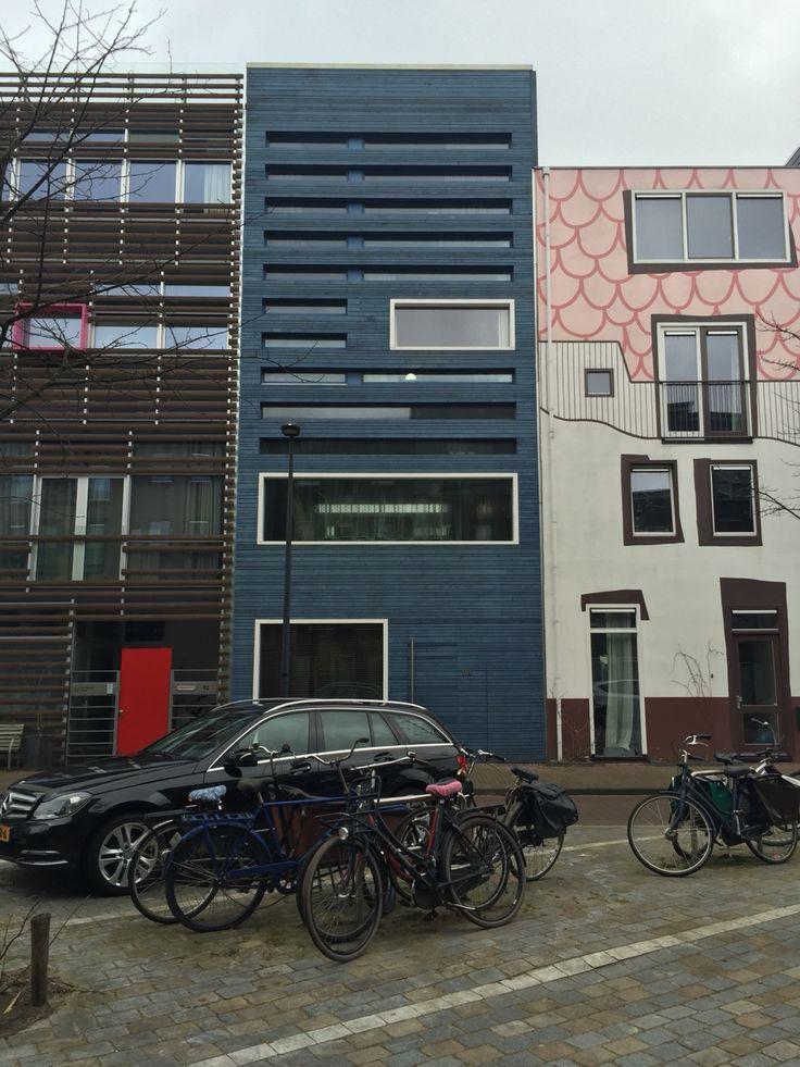 Blauwe huis: mooie lijnen
