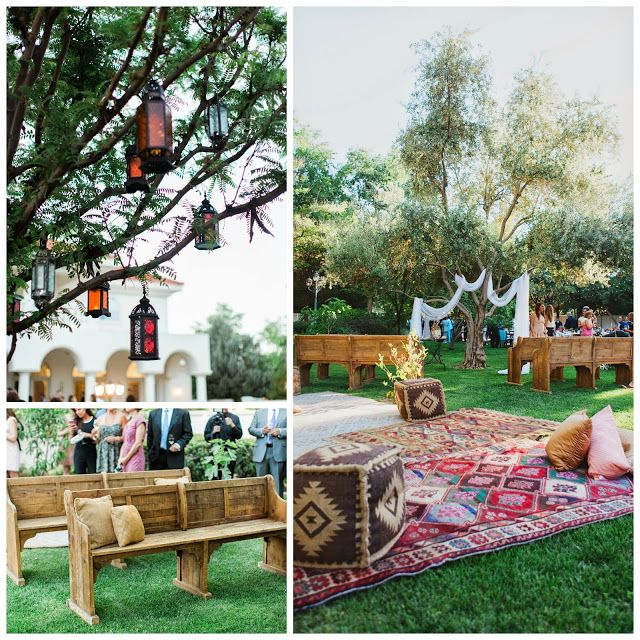 Boho Backyard Wedding : Vegas Wedding Planner, Ceremony Design, Boho Wedding, Backyard Wedding