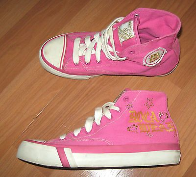 Pro Keds Rocawear Roca Wear Womens Big Girls hi top Shoes ...
