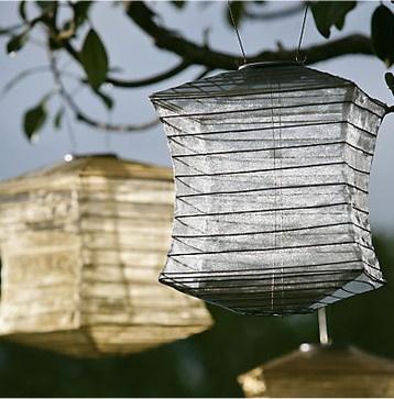 Shoji Silk Effects Lantern asian outdoor lighting