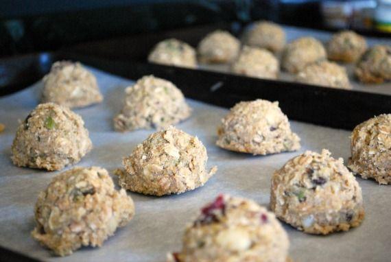 Freezer Breakfast Cookies