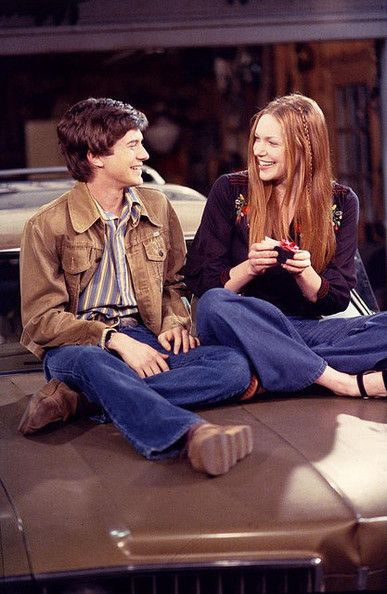 Eric & Donna, 'That 70s Show'        The best relationships are often born out of friendship, and that was definitely the case with Eric and Donna on That 70s Show. Though the next door neighbors turned lovers had their share of ups and downs, Eric was always there for Donna. He even tried to warn her when he thought her new boyfriend wasn't good enough for her and followed her to California to win back her heart. Not too shabby for a dorky teen from Wisconsin.