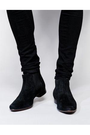 Heren enkellaarzen - ASOS Chelsea Boots in Suede