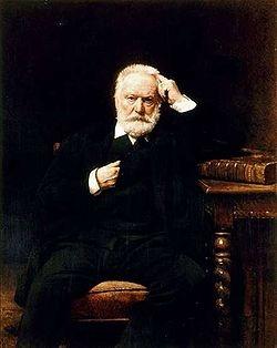 Victor Hugo (26 febrero 1802 - 22 mayo 1885).  Poeta, dramaturgo y escritor romántico francés, considerado como uno de los escritores más importantes en lengua francesa. Algunas de sus obras más destacadas son Los Miserables y Nuestra Señora de París.