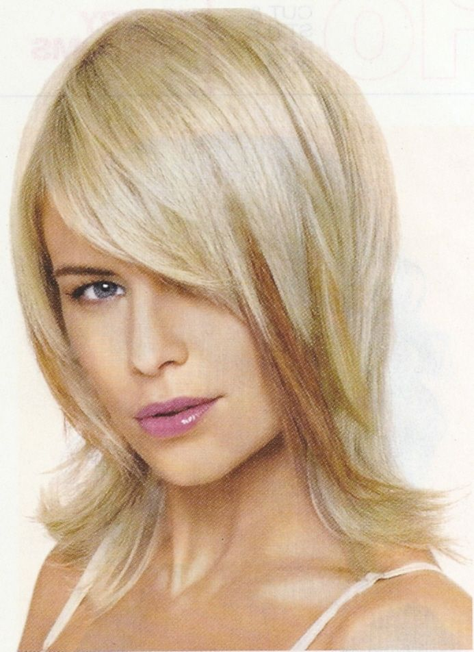 medium sassy haircuts medium length razor layers sassy length layered 2581