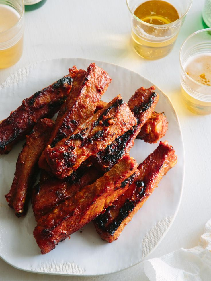 "fattributes: "" Spicy Marinated and Grilled Spare Ribs """