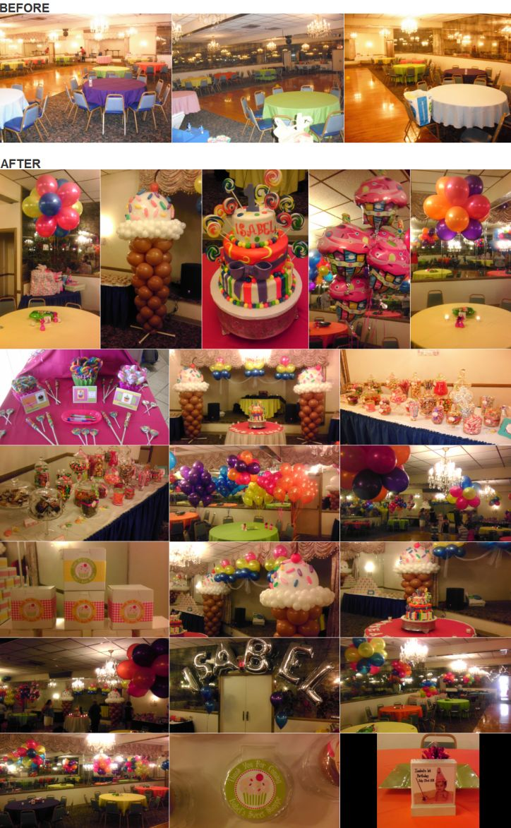 Bunch of Balloons - Candy Theme Party -  -
