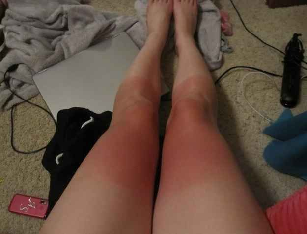 You have the most bizarre leg tan of all time. | 23 Struggles Every Soccer Girl Understands