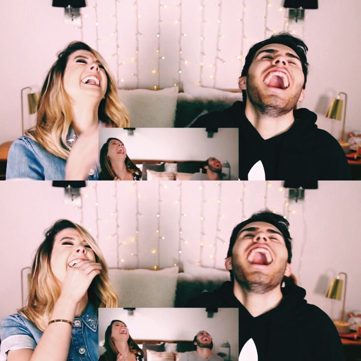 #zoella they reacted the same way!!!