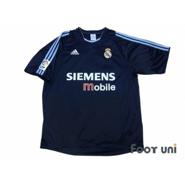 Photo1: Real Madrid 2003-2004 Away Shirt LFP Patch/Badge adidas - Football Shirts,Soccer Jerseys,Vintage Classic Retro - Online Store From Footuni Japan