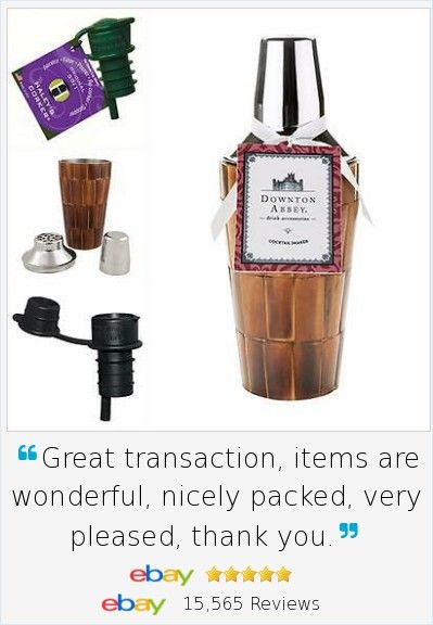 We may not have a butler from Downton Abbey living with us, but we CAN serve in elegance! Great gift for Dad on Father's Day! Featuring here a licensed Downton Abbey Cocktail Shaker Wood Bar Ware Gift Set with a Bonus Haleys Wine Corker 2p