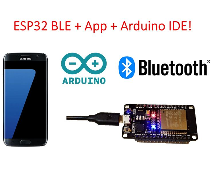 ESP32 BLE + Android + Arduino IDE = AWESOME  ||  IntroductionAs you might know, the ESP32 is an incredibly feature-packed module that has not only WiFi but also Bluetooth Low Energy (BLE), touch sensors, tons of... http://www.instructables.com/id/ESP32-BLE-Android-App-Arduino-IDE-AWESOME/?utm_campaign=crowdfire&utm_content=crowdfire&utm_medium=social&utm_source=pinterest