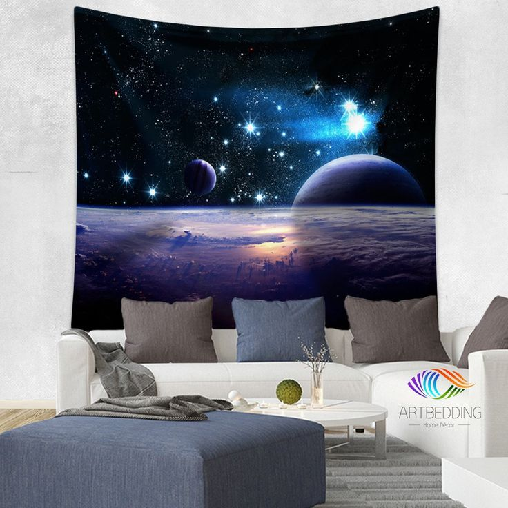72 best space theme children 39 s church images on pinterest for Space themed tapestry