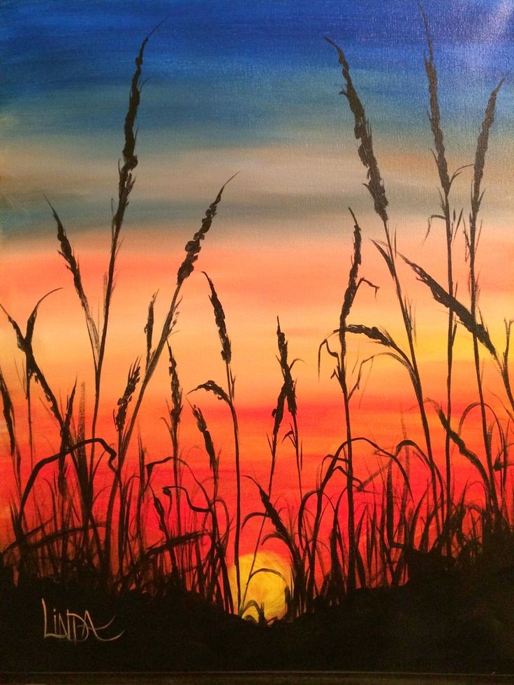 Seagrass Sunset, linda