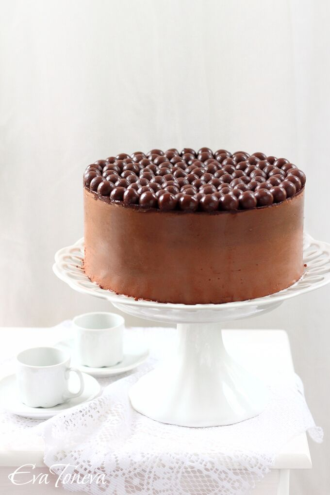 nutella layer cake//