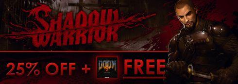 Shadow Warrior Remake On Sale With Free Doom 3 BFG On Get Games  http://gg3.be/2013/11/05/shadow-warrior-remake-on-sale-with-free-doom-3-bfg-on-get-games/