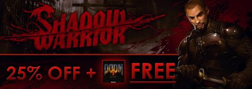 Shadow Warrior Remake On Sale With Free Doom 3 BFG On Get Games  http://gg3.be/2013/11/05/shadow-warrior-remake-on-sale-with-free-doom-3-bfg-on-get-games/