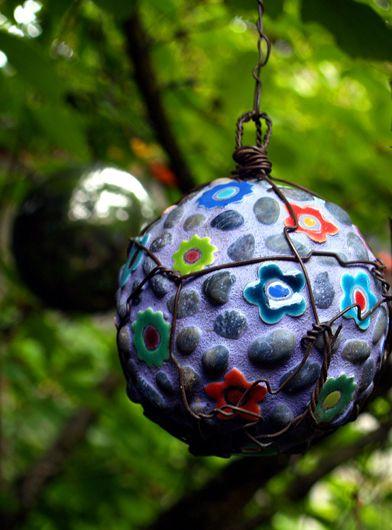concrete balls for the garden.....