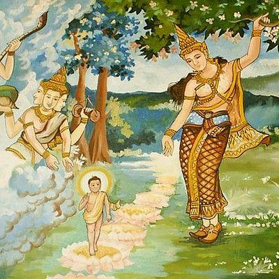 Какую религию изучал молодой Гаутама Будда? никакую.