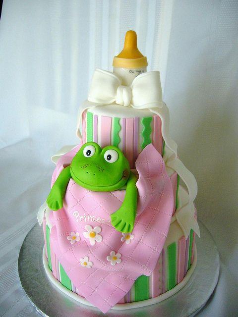 frog princess baby shower cake baby shower ideas pinterest frog