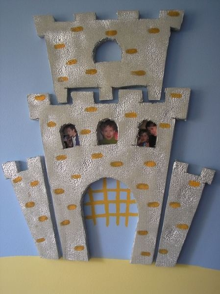 paper castle for fairytale section
