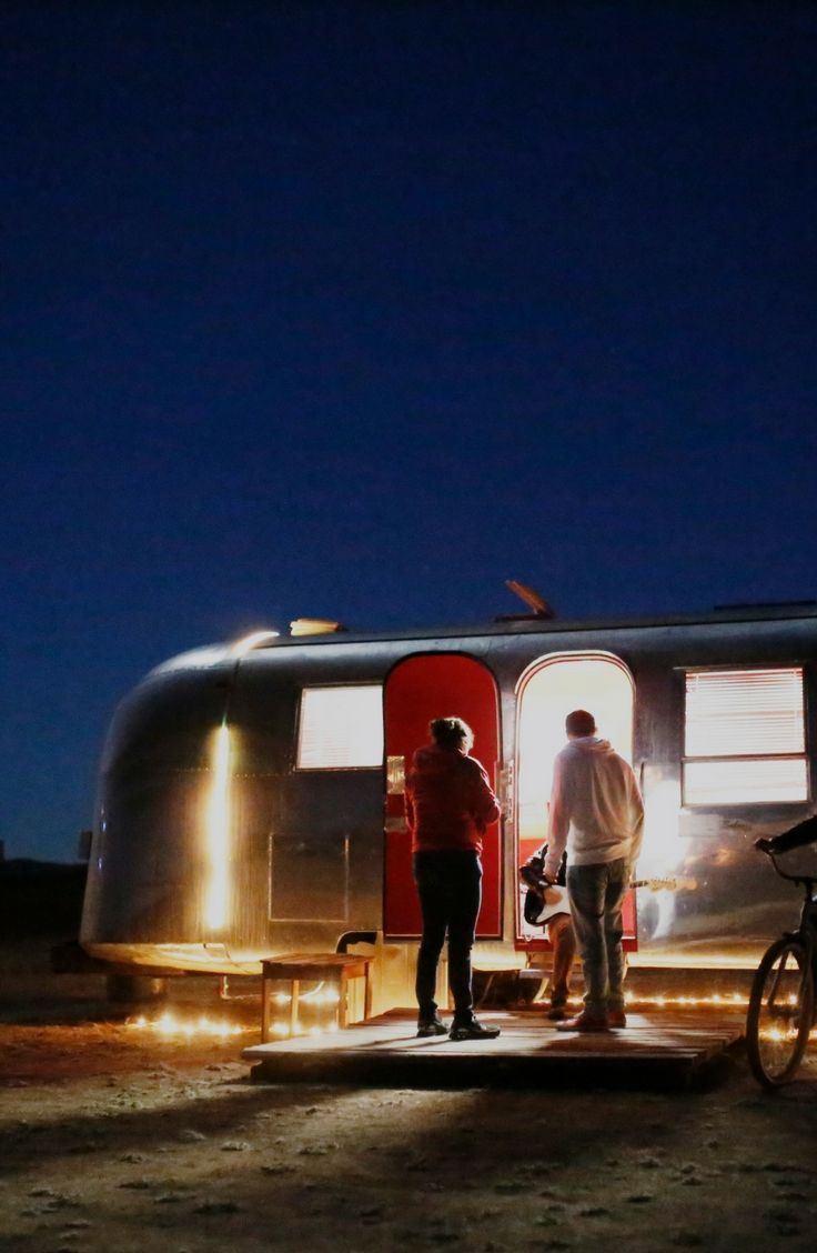 This spring enjoy this vintage Airstream rental in Baja California!