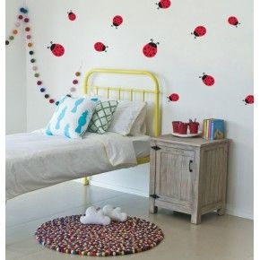 Wall Decals - Lady Beetle