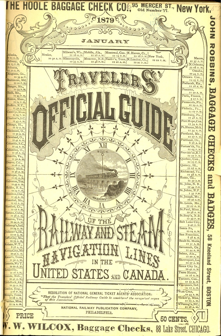 Official Railway Guide 1879: Official Railway, Vintage Types, Vintage Typography, Typography Vintage, Vintage Wardrobe, Railway Guide, Guide 1879, Letters, Official Guide