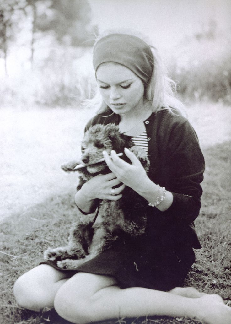 Brigitte Bardot & friend
