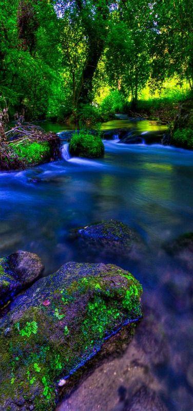 'Colors of nature' - Treja river, Grezanno, Lazio, Italy by Claudio Cantonetti