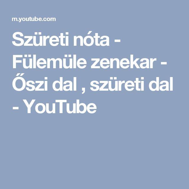 Szüreti nóta - Fülemüle zenekar - Őszi dal , szüreti dal - YouTube