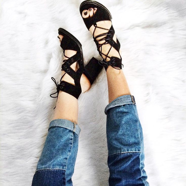 Patched denim and lace ups                                                                                                                                                                                 More