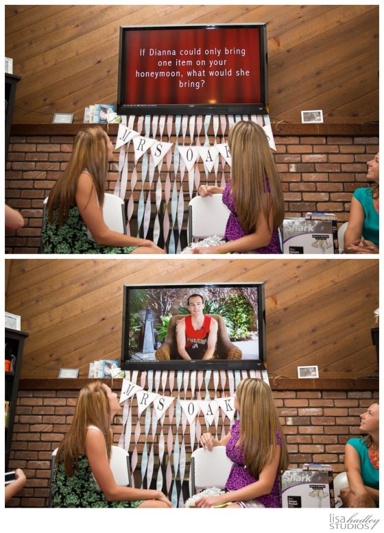 Bridal Shower Activity - The Newlywed Game