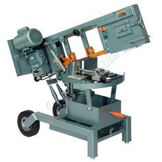 Ellis Band Saws, still made in the USA, are one of the most versatile and popular horizontal band saws on the market today.