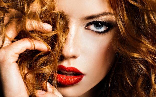Макияж для рыжеволосых девушек с серо-голубыми глазами ::: onelady.ru ::: #makeup #eyes #eyemakeup