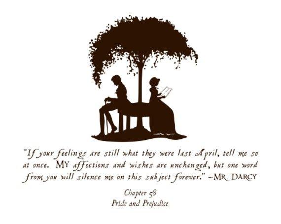Mr. Darcy's love