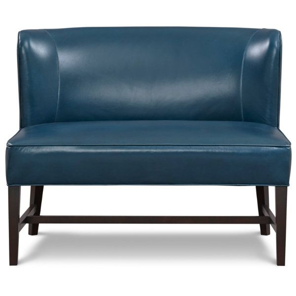 The Thread U0026 Feather Norfolk Armless Settee Features Simple Lines. We  Dressed It Up In