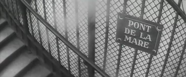 """Pasarelle de la Mare. Dans le film  """"La métamorphose des cloportes"""""""