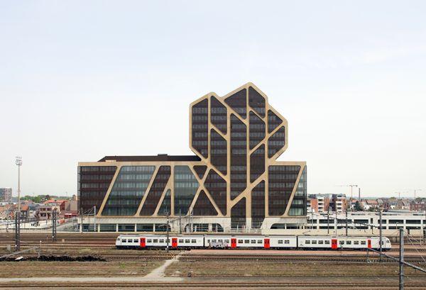 Court House Hasselt - opening by LensAss architecten , via Behance