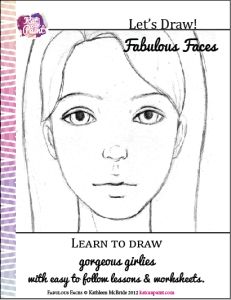 let's draw fabulous faces miniclass online art class how to draw faces for beginners