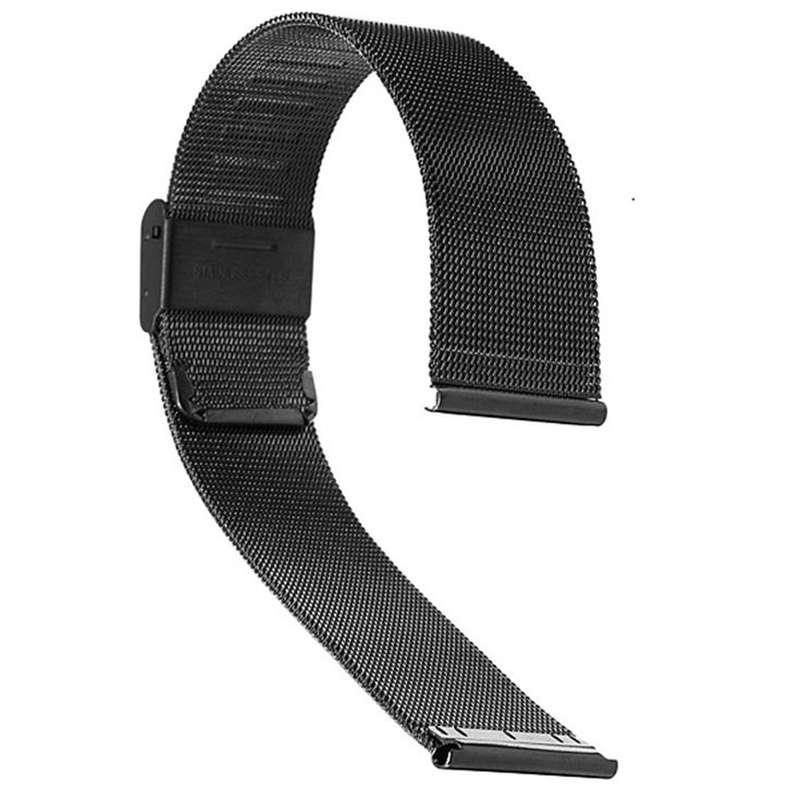 Hot Selling Black 18mm 20mm 22mm 24mm Stainless Steel Mesh Bracelet Strap Replacement Wrist Watch for Band #>=#>=#>=#>=#> Click on the pin to check out discount price, color, size, shipping, etc. Save and like it!
