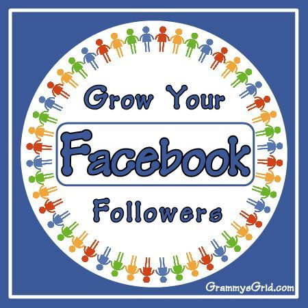 Grow Your Facebook Followers Link Party – Grammy's Grid