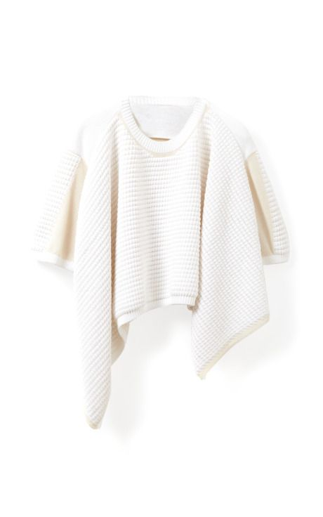 Shop Short Sleeve Pullover With Chunky Ottoman Stitch by 3.1 Phillip Lim for Preorder on Moda Operandi